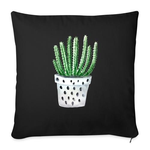 "Cactus - Throw Pillow Cover 17.5"" x 17.5"""