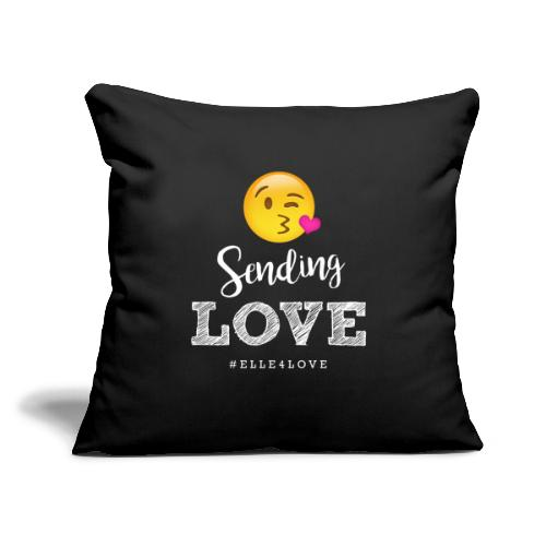 "Sending Love - Throw Pillow Cover 17.5"" x 17.5"""