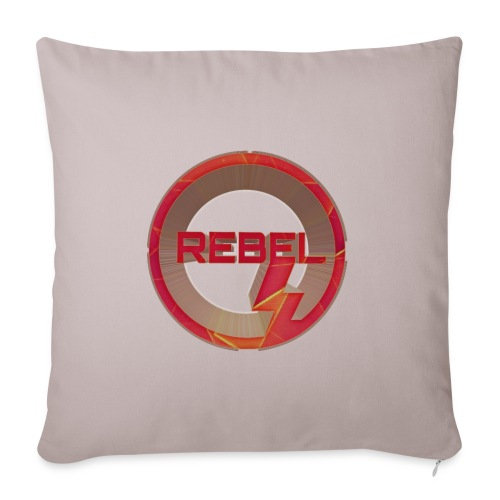 """Rebel - Throw Pillow Cover 17.5"""" x 17.5"""""""