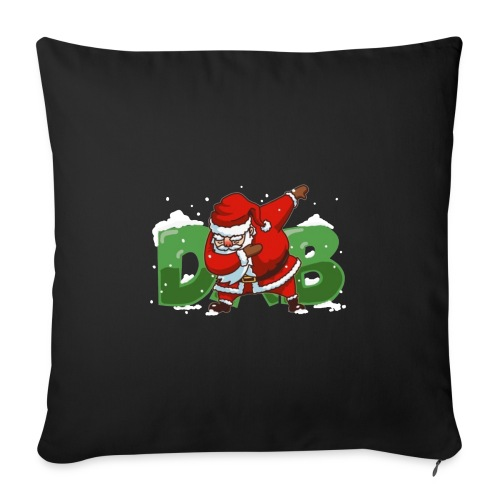 "Dabbing Santa - Throw Pillow Cover 18"" x 18"""