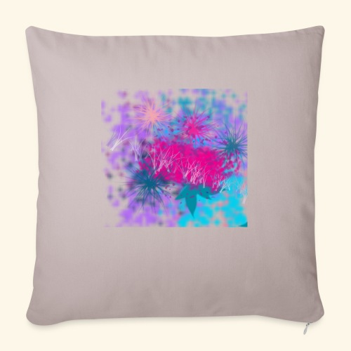 """Abstract - Throw Pillow Cover 17.5"""" x 17.5"""""""
