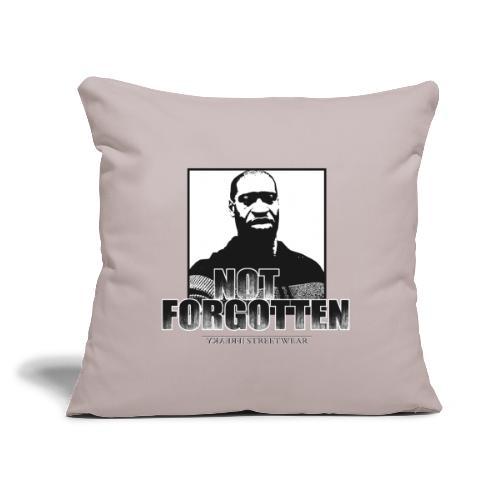 """not forgotten - Throw Pillow Cover 17.5"""" x 17.5"""""""