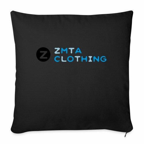 """ZMTA logo products - Throw Pillow Cover 18"""" x 18"""""""