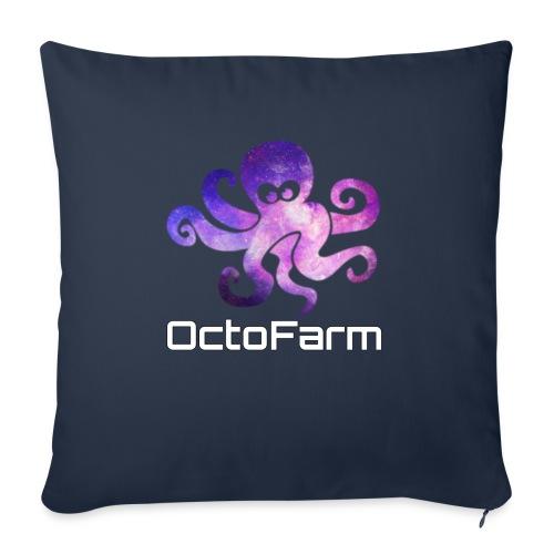 "Logo text - Throw Pillow Cover 17.5"" x 17.5"""