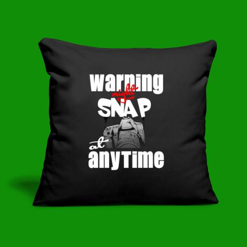 """Might Snap Photography - Throw Pillow Cover 17.5"""" x 17.5"""""""