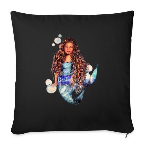 """Mermaid dream - Throw Pillow Cover 17.5"""" x 17.5"""""""