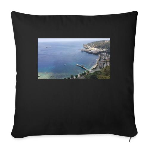 "Christmas Island - Throw Pillow Cover 17.5"" x 17.5"""