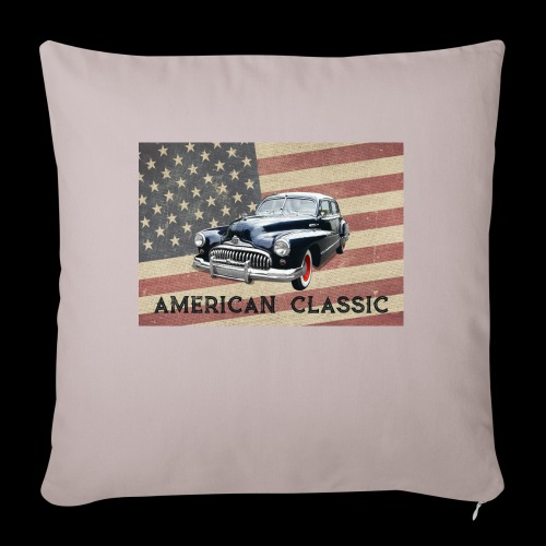 "Classic Buick - Throw Pillow Cover 17.5"" x 17.5"""