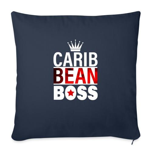 """Caribbean Boss - Throw Pillow Cover 18"""" x 18"""""""