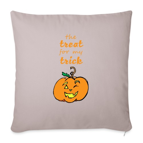 """Trick or Treat Maternity - Throw Pillow Cover 17.5"""" x 17.5"""""""