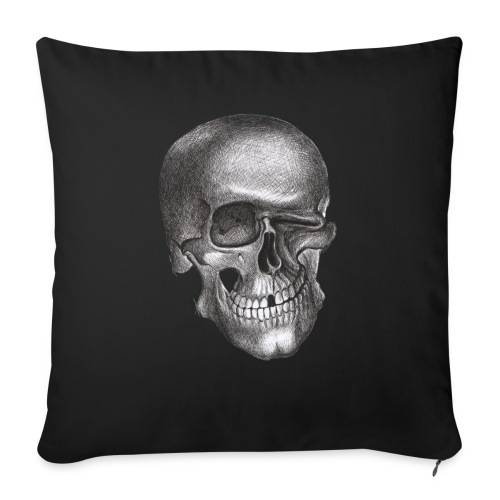 """twinkle skull - Throw Pillow Cover 17.5"""" x 17.5"""""""