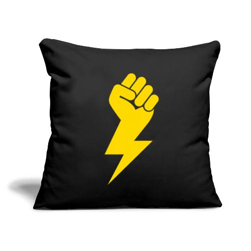 """Power Fist - Throw Pillow Cover 17.5"""" x 17.5"""""""