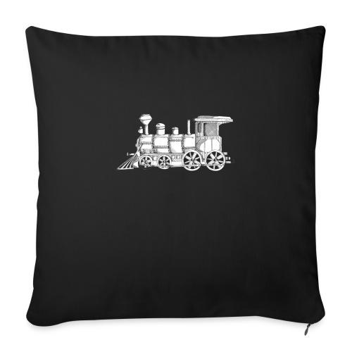 """steam train - Throw Pillow Cover 18"""" x 18"""""""