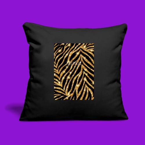 "MONZI - Throw Pillow Cover 17.5"" x 17.5"""