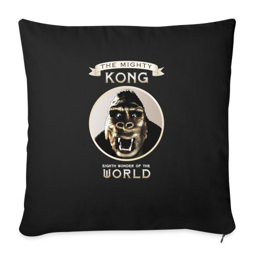 "Classic Kong - Throw Pillow Cover 17.5"" x 17.5"""
