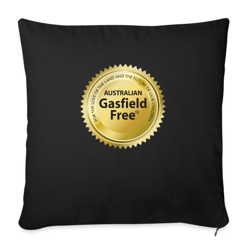 """AGF Organic T Shirt - Traditional - Throw Pillow Cover 18"""" x 18"""""""