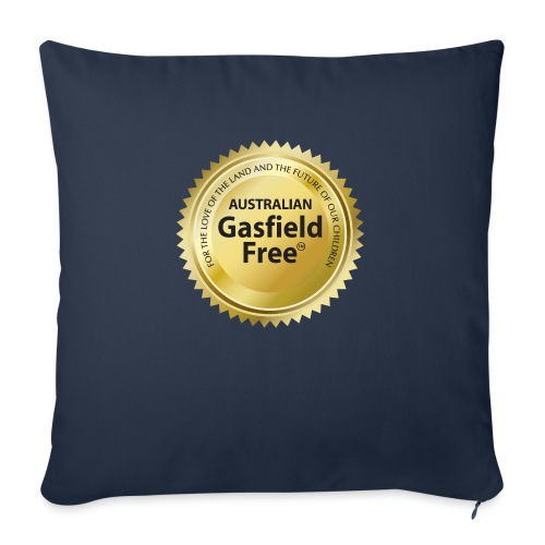 """AGF Organic T Shirt - Traditional - Throw Pillow Cover 17.5"""" x 17.5"""""""