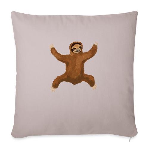 """Sloth Love Hug - Throw Pillow Cover 17.5"""" x 17.5"""""""