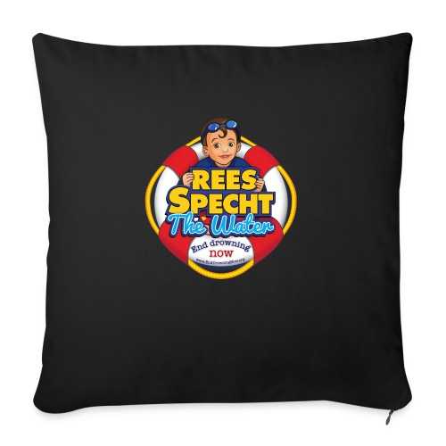 "RSTWHIGH - Throw Pillow Cover 17.5"" x 17.5"""