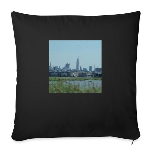 "New York - Throw Pillow Cover 17.5"" x 17.5"""