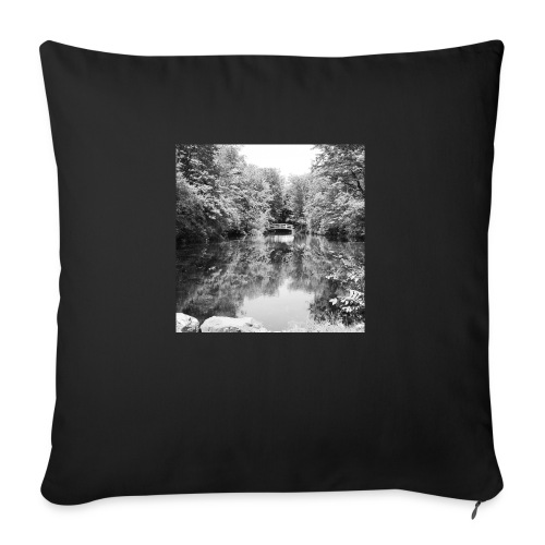 """Lone - Throw Pillow Cover 18"""" x 18"""""""