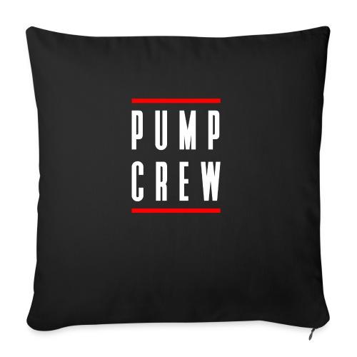 "Pump Crew - Throw Pillow Cover 18"" x 18"""