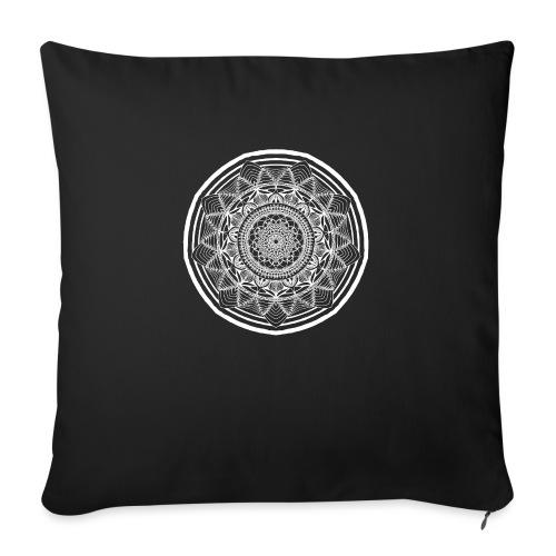 """Circle No.1 - Throw Pillow Cover 17.5"""" x 17.5"""""""