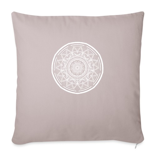 "Circle No.1 - Throw Pillow Cover 17.5"" x 17.5"""