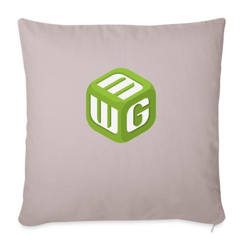 """Steve Sized MWG T-Shirt (3XT) - Throw Pillow Cover 17.5"""" x 17.5"""""""