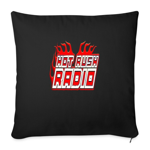 "worlds #1 radio station net work - Throw Pillow Cover 17.5"" x 17.5"""