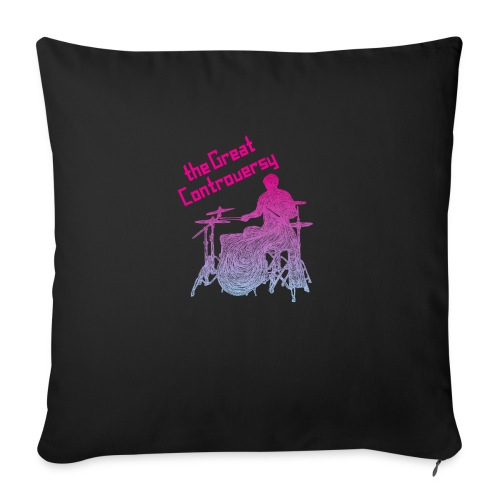 """The Great Controversy PB - Throw Pillow Cover 17.5"""" x 17.5"""""""