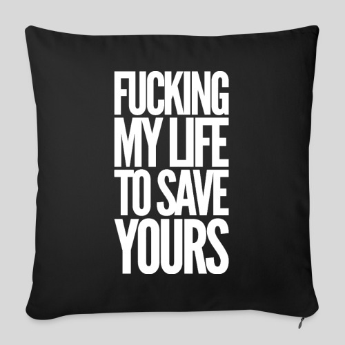"FMLTSY - Throw Pillow Cover 18"" x 18"""