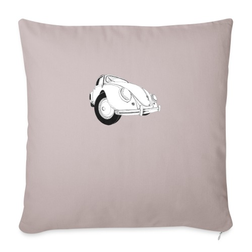 "Beetle - Throw Pillow Cover 18"" x 18"""