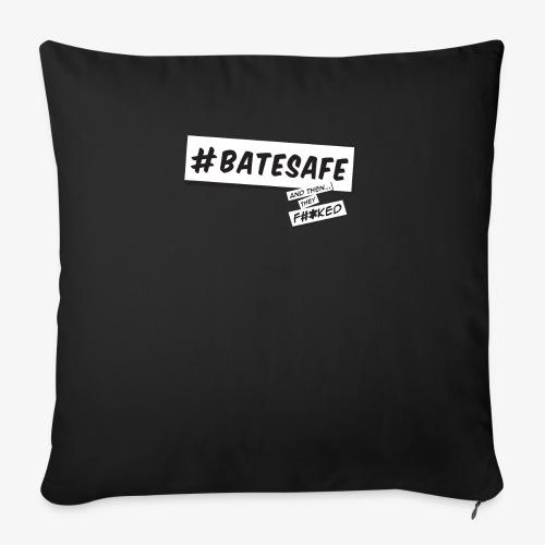 "ATTF BATESAFE - Throw Pillow Cover 18"" x 18"""