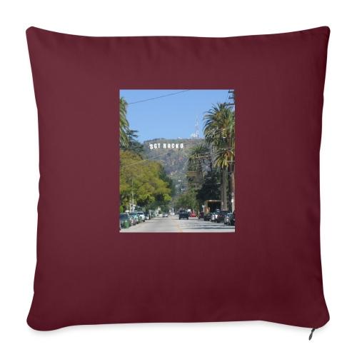 "RockoWood Sign - Throw Pillow Cover 17.5"" x 17.5"""