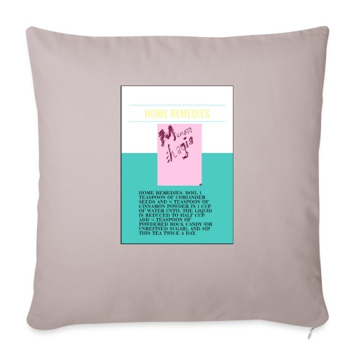 "Support.SpreadLove - Throw Pillow Cover 17.5"" x 17.5"""