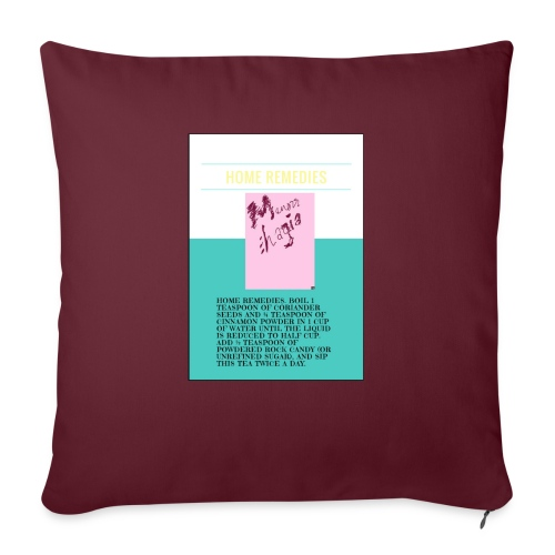 """Support.SpreadLove - Throw Pillow Cover 17.5"""" x 17.5"""""""