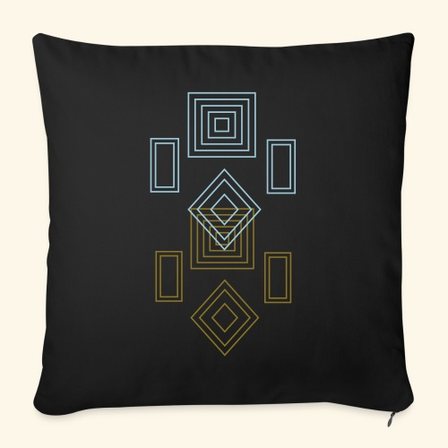 "odd_shapes - Throw Pillow Cover 17.5"" x 17.5"""