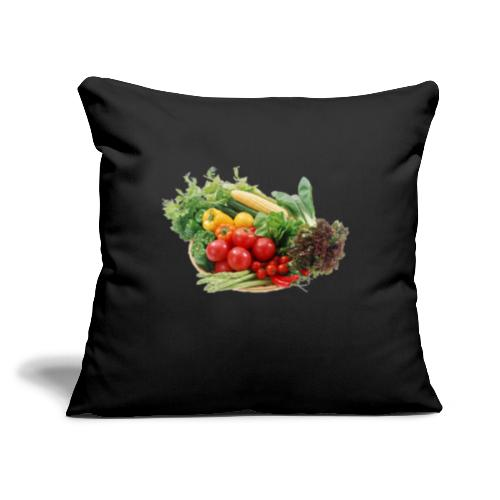 """vegetable fruits - Throw Pillow Cover 17.5"""" x 17.5"""""""