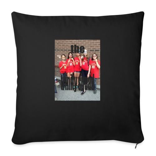 """squad up - Throw Pillow Cover 18"""" x 18"""""""