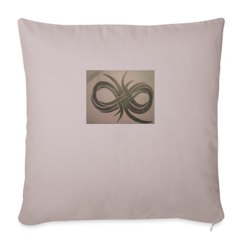 "Infinity - Throw Pillow Cover 17.5"" x 17.5"""