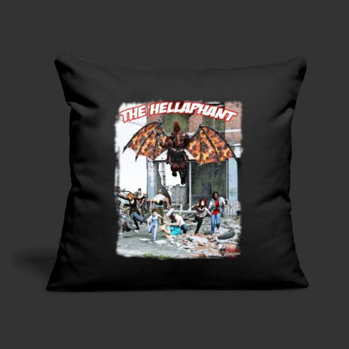 """The Hellaphant Alternate Concept: Re-Issue - Throw Pillow Cover 17.5"""" x 17.5"""""""