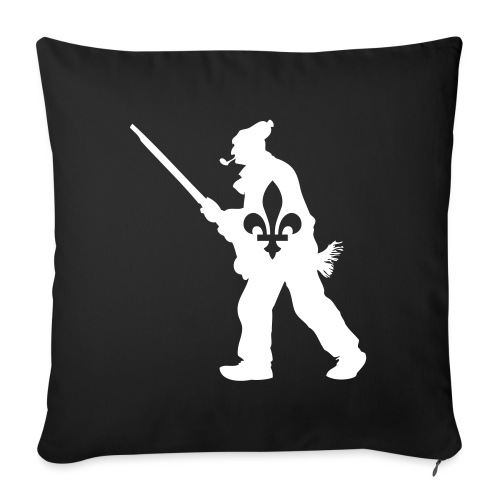 """Patriote 1837 Québec - Throw Pillow Cover 17.5"""" x 17.5"""""""