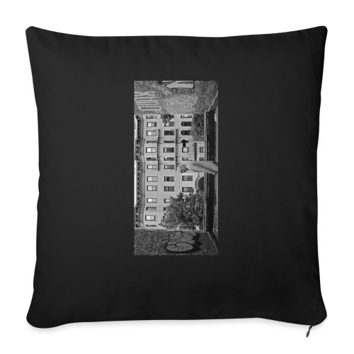 "blackiphone5 - Throw Pillow Cover 17.5"" x 17.5"""