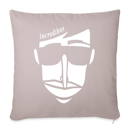 "logo-negatif - Throw Pillow Cover 17.5"" x 17.5"""