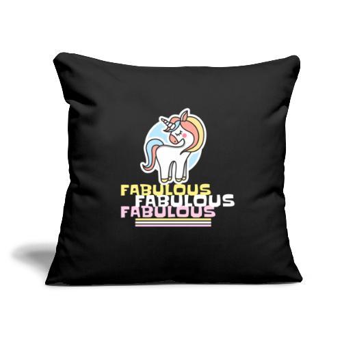"""Unicorn 1 - Throw Pillow Cover 17.5"""" x 17.5"""""""