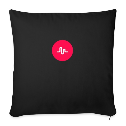 """Musical.ly logo - Throw Pillow Cover 18"""" x 18"""""""