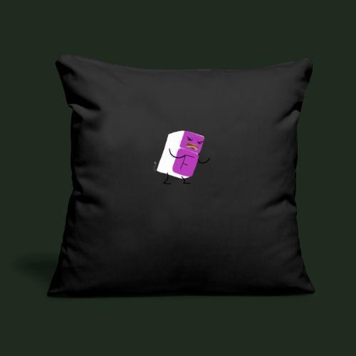 "Fridge - Throw Pillow Cover 17.5"" x 17.5"""