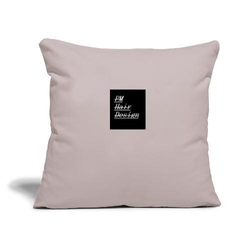 """PM Hair Design - Throw Pillow Cover 17.5"""" x 17.5"""""""