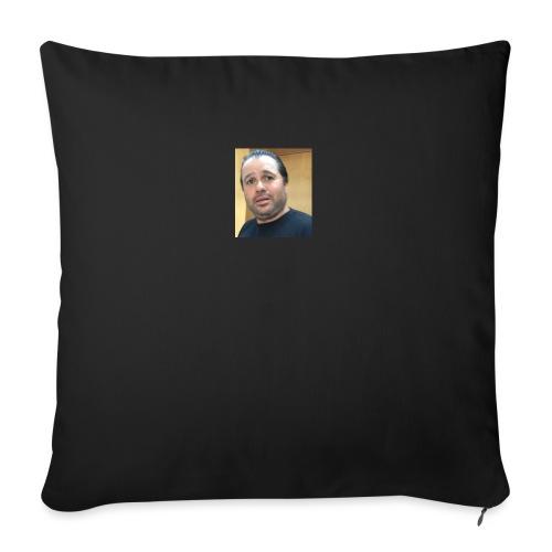 "Hugh Mungus - Throw Pillow Cover 18"" x 18"""